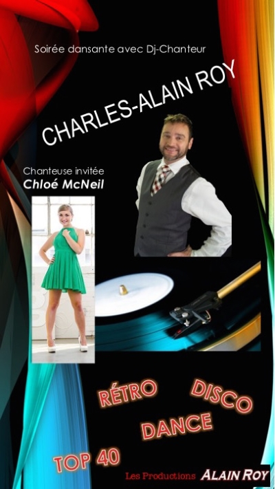 10 août 2019 – Soirée dansante avec Charles-Alain Roy en duo