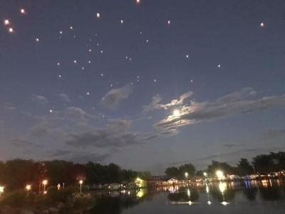 25 juillet 2021  Prix hommage Bruno Duguay / Envolée de lanternes