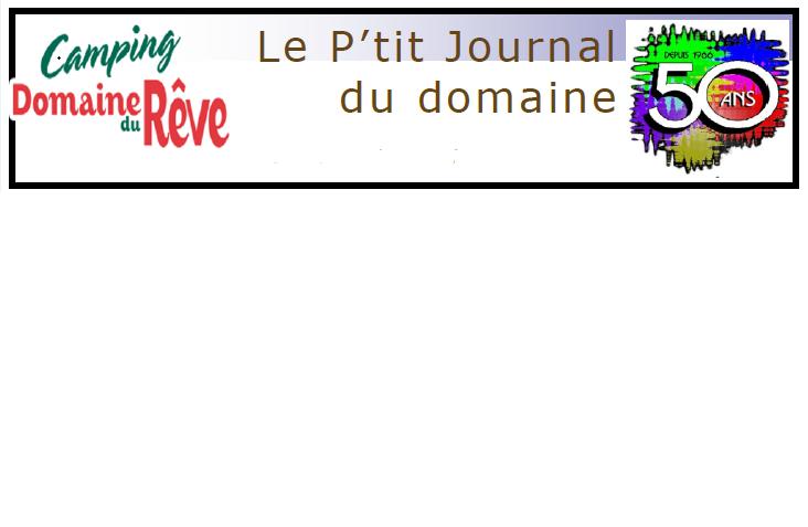 Lire l'article « Le P'tit journal du Domaine »